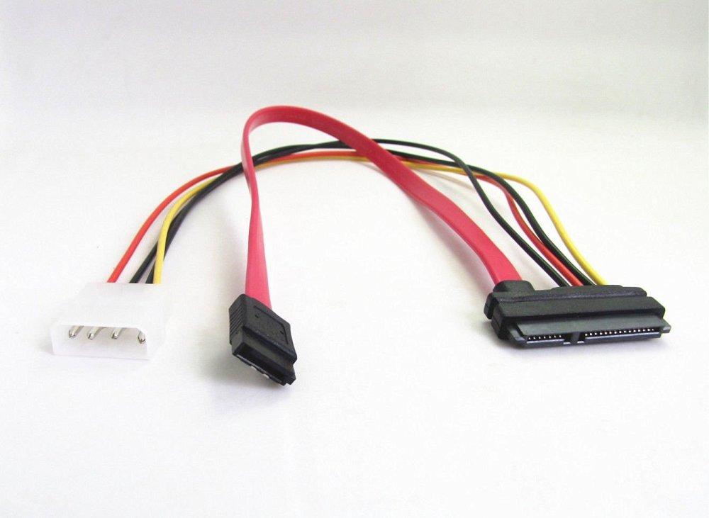 medium resolution of wahhing 7 pin sata serial ata to sas 29 pin 4 pin cable male connector