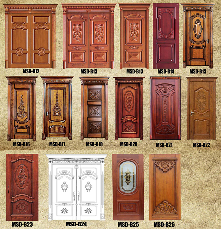 2016 Modern Wooden Flash Door Designs For Home India