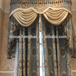 Furnishing A Living Room Decorating Wholesale Old Fashioned Triple Shadings Royal Curtains ...