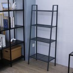 Kitchen Bakers Rack Home Depot Cabinet Refacing 4 Shelves Iron Indoor Metal Plant Stands Bedside Table Flower Display