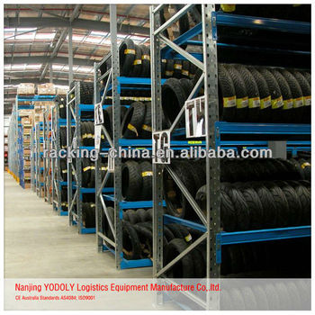 Truck Spare Tire Rack /auto Shop Shelf / Tire Rack
