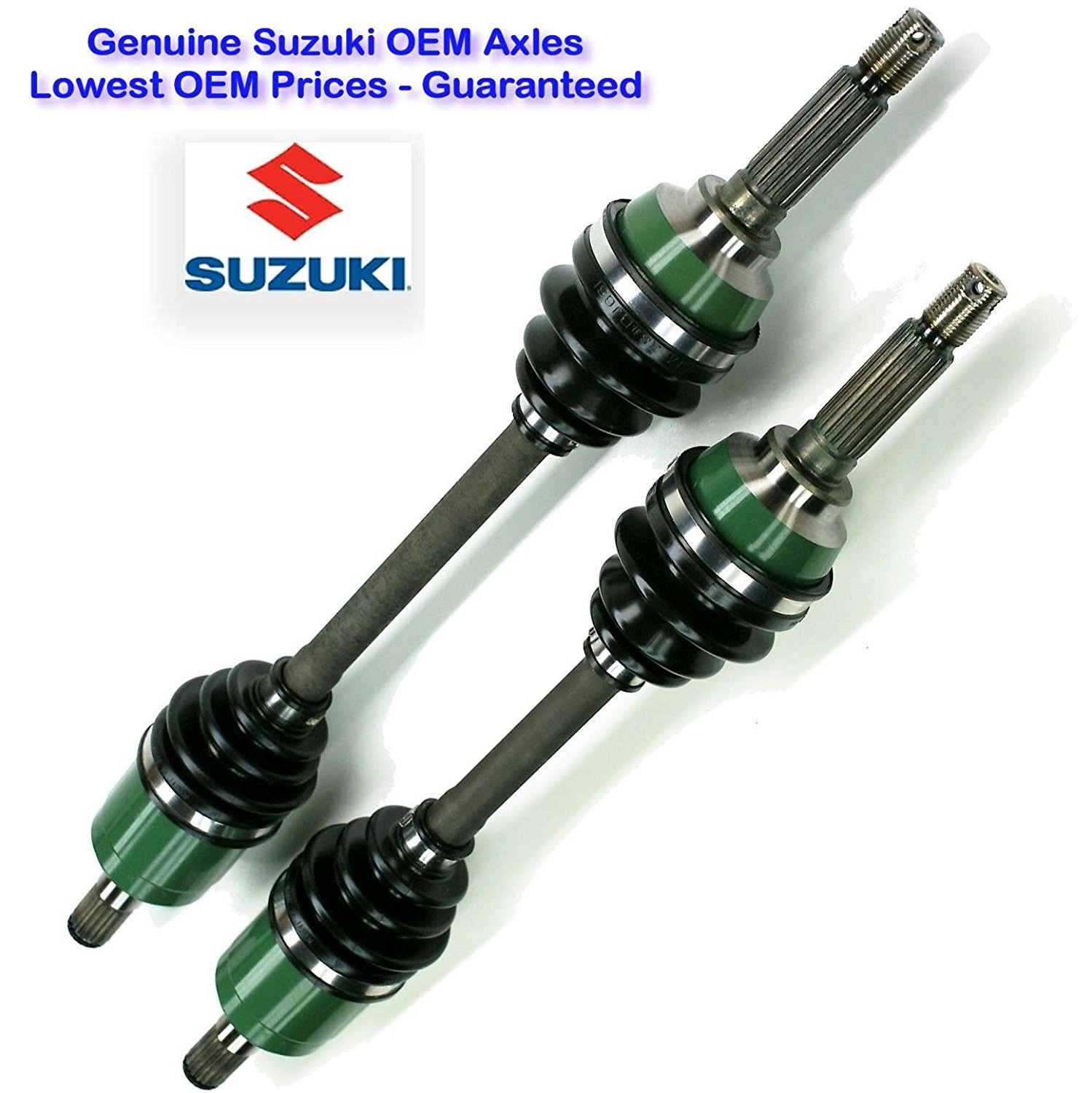 hight resolution of get quotations two suzuki eiger 4x4 drive shafts suzuki eiger 400 4wd right and left cv axles