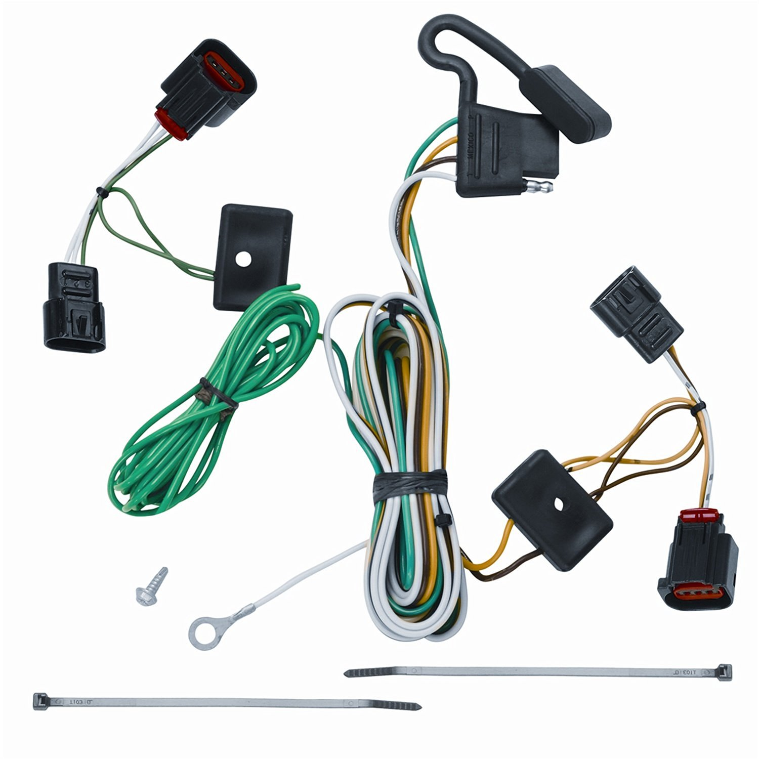 hight resolution of get quotations vehicle to trailer wiring connector for 09 12 volkswagen vw routan plug play