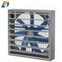 Js Square Type Industrial Ventilation Exhaust Fan For ...