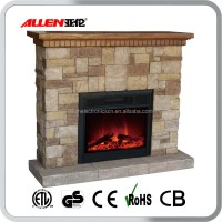 Classic Flame Simulated Log Set Electric Fireplace No Heat ...