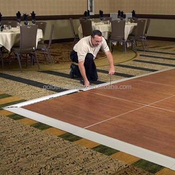 Camlock Portable Dance Floor Easy Set Up Ground Flooring