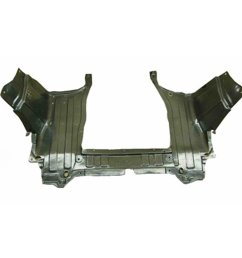 get quotations crash parts plus ho1228125 lower engine cover for 2009 2013 honda fit [ 1500 x 1500 Pixel ]