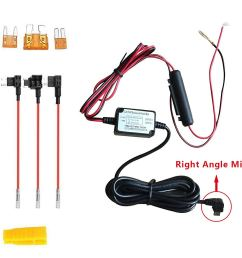 get quotations dash camera right angle micro usb hard wire kit with lp mini mini ato [ 1500 x 1147 Pixel ]