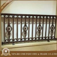 Modern Design Luxury Interior Wrought Iron Balcony Railing