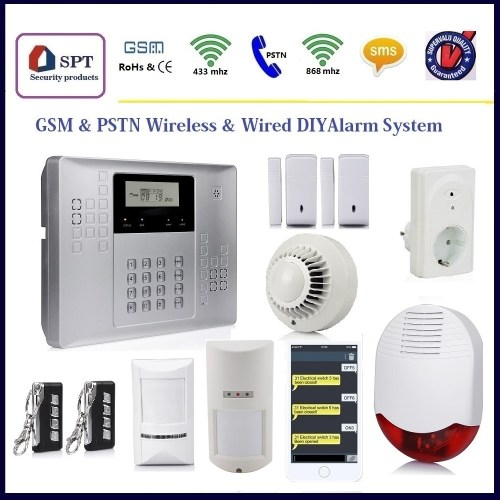 small resolution of home automation kit panic button siren perimeter protection