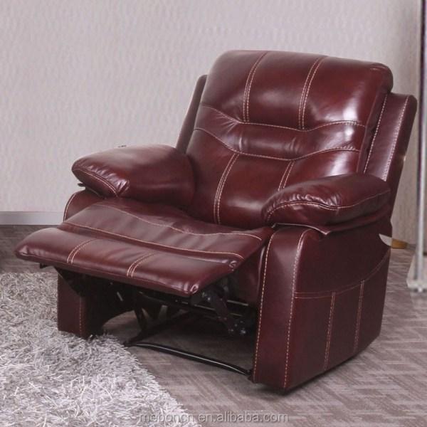 Genuine Leather Bedroom Furniture Soft Modern Bed Design
