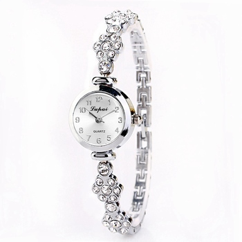 Simple Silver Women Watches Elegant Small Bracelet Female
