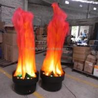 Foshan Yilin Solar Fake Fire Led Silk Flame Light - Buy ...