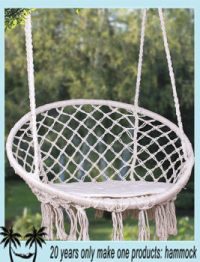Hanging Rope Round Hammock Swing Chair