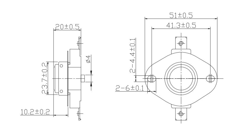 Atlas Copco Compressor Parts Type Temperature Switch