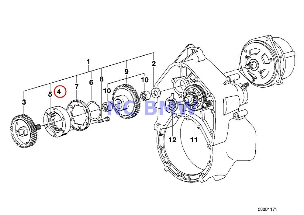 Buy BMW Genuine Motorcycle Starter 1-Way Clutch/Reduct