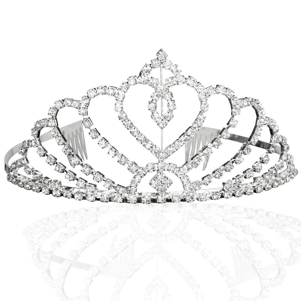Buy Bridal Wedding Princess Tiara Crown With Blooming