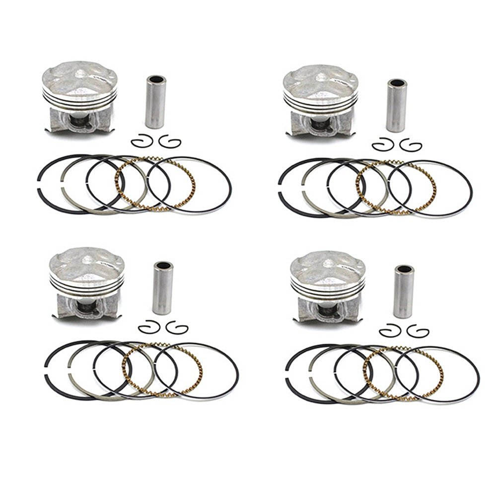 Buy AHL 2 Sets Motorcycle Engine Parts Piston & Piston