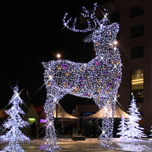 Led Christmas Decorations Outdoor