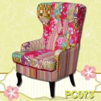 Organic Chair/modern Furniture/ Patchwork Swivel Armchair