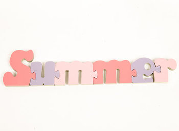 personalised jigsaw 6 letter