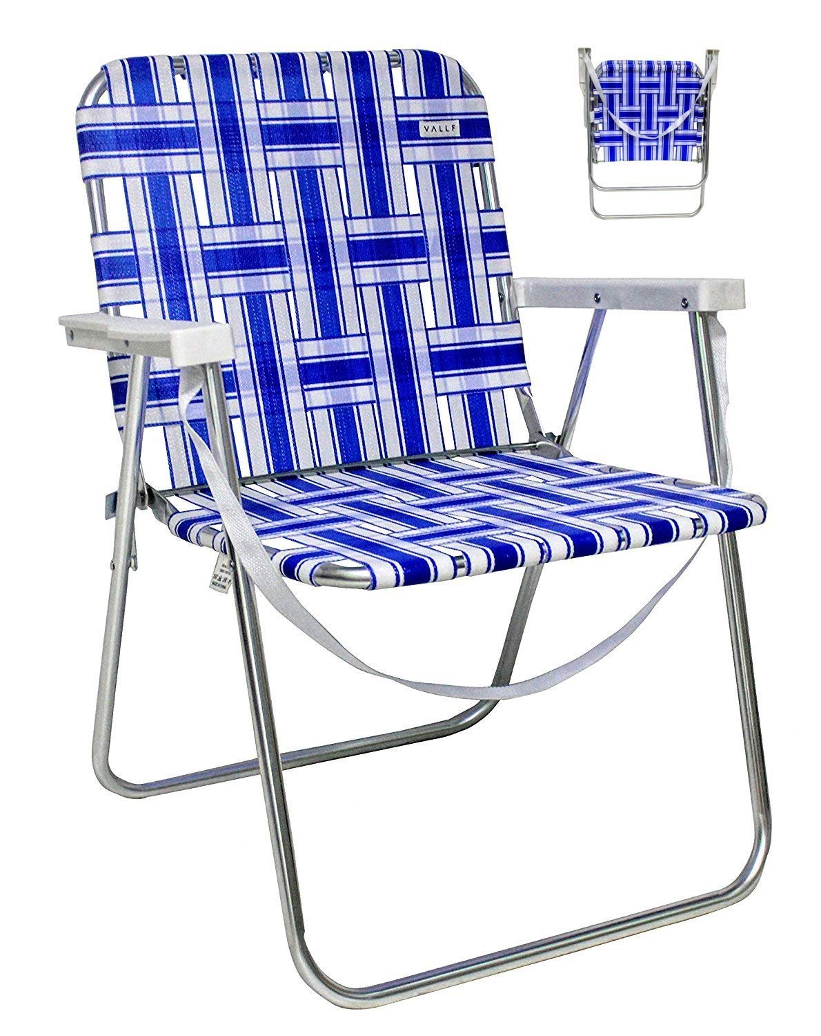 lightweight lawn chairs unusual outdoor cheap aluminum folding find get quotations vallf beach camping web chair with shoulder strap assorted colors