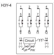 Adjustable Delay Time 8pin 0-30s Sec H3y-2 H3y-4 Timer