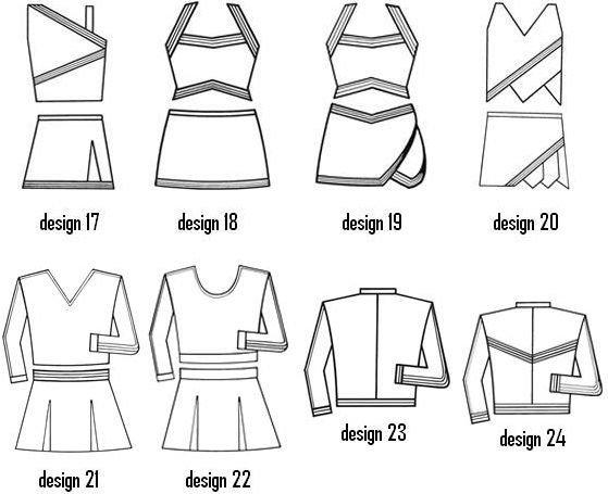 2017norns Wholesale Customized Crop Top Cheer Uniform