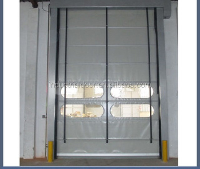 Industrial Sectional Door Fire Doors Rolling Shutters Automatic Roll Up Door
