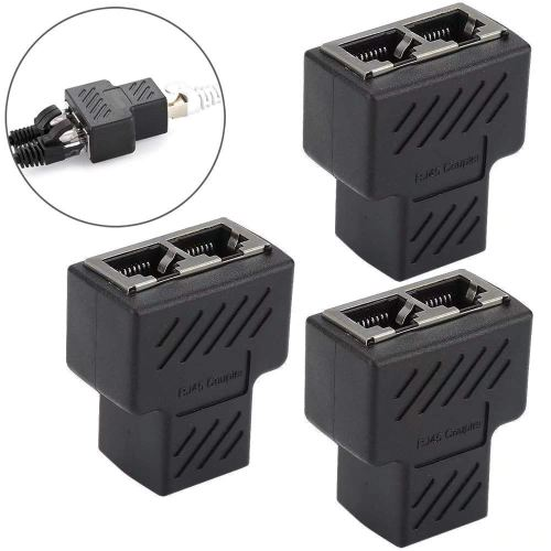 small resolution of get quotations jahyshow rj45 splitter adapter rj45 female 1 to 2 dual female port lan ethernet network