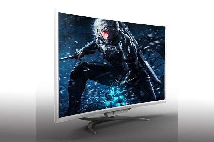 VGA + DVI + SPK HD curved all in one desktop pc for sale