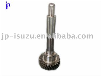 Gear Top Shaft for Isuzu MLD6Q Transmission, Gear Box