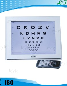 Fcp  lcd eye chart projector also rh alibaba