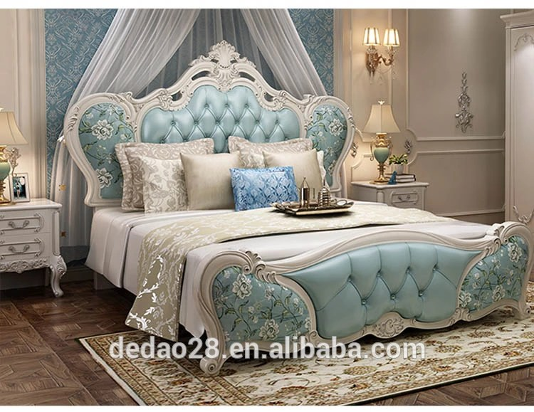 roman impression french style champagne color rural princess bed elegant king queen double bed genuine leather hotel ues bed buy roman impression