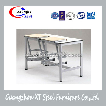 China Factory School Furniture Classroom Attached Tables