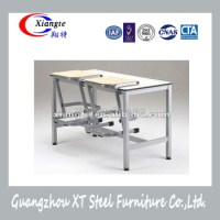 China Factory School Furniture Classroom Attached Tables ...