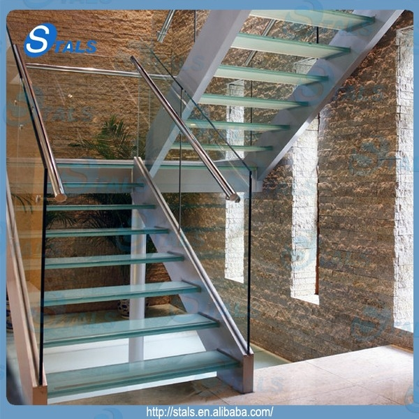 Stals Modern Steel Glass Stair Railing Spiral Staircase | Metal And Glass Staircase