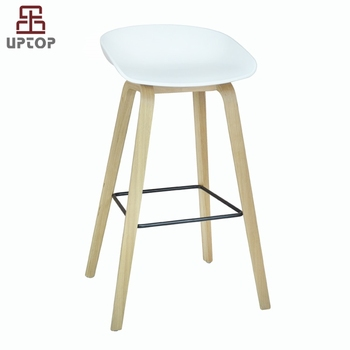 high bar stool chairs bassett leather chair and ottoman sp ubc202 new design white plastic shell counter kitchen