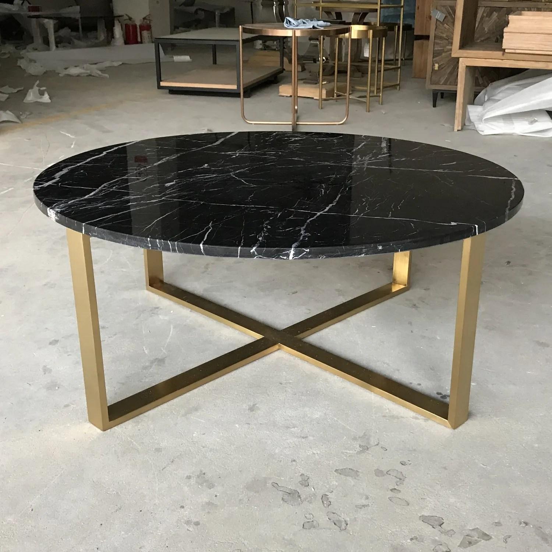 gold metal base wholesale round black marble coffee table buy round coffee table marble wholesale marble coffee table coffee table black marble