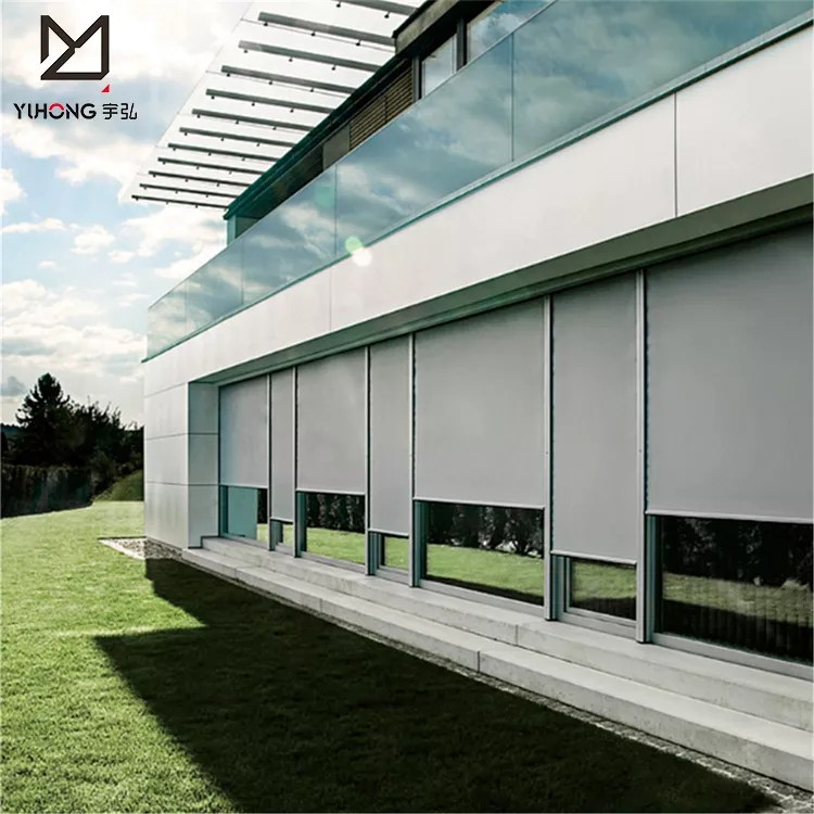 16 mps strong windproof outdoor zip track storm hurricane shutters lowes blinds for window view outdoor blind yuhong yuhong product details from