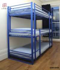 Cheap Metal Adult 3 Tier Triple Bunk Beds Sale For Adults ...