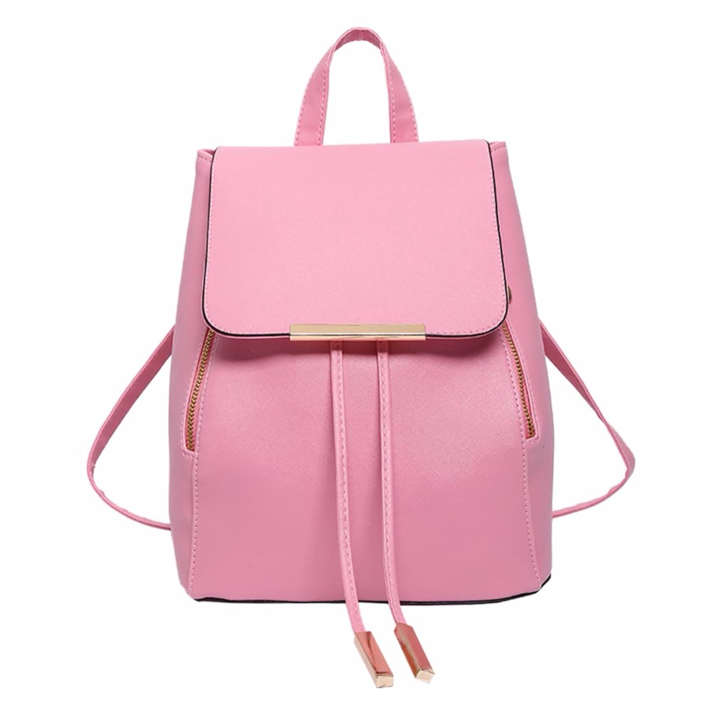 Backpack Women Pu Leather Female Backpacks Teenager School Mochila Feminina Rucksack Mochilas Mujer 2018