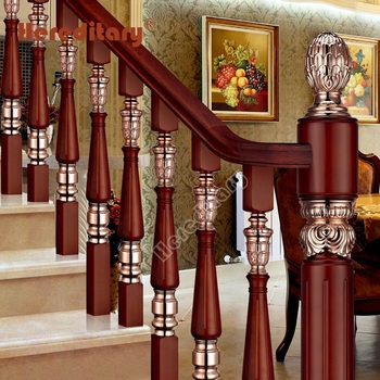 India Designs Wooden Staircase Antique Brass Baluster Aluminum   Hardwood Handrails For Stairs   Brown   Outdoor   Stairway   Light Wood   Colour Stair Painted Stair Railing