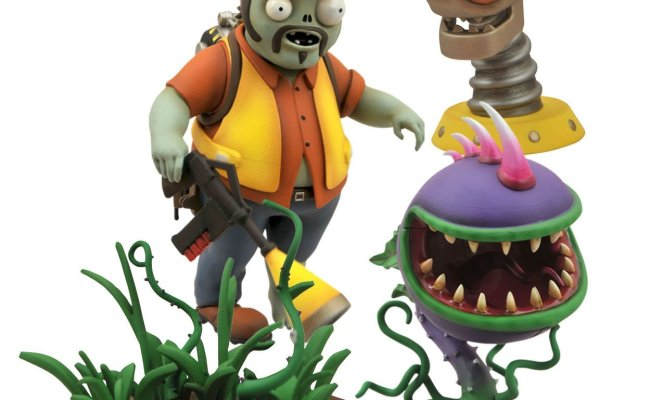 Buy Diamond Select Toys Plants Vs Zombies Garden Warfare