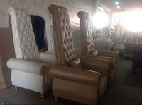 Luxury Nail Salon Spa Chairs/pedicure Chair/wedding Chair ...