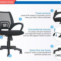 Best Buy Computer Chair Glider Ottoman Cushions Swivel Low Back Office Desk View