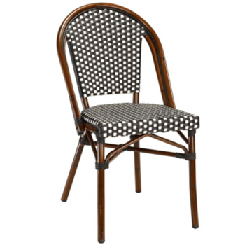 bamboo chairs for sale best desk uv resistant outdoor rattan french bistro furniture