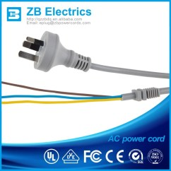 3 Phase 5 Pin Plug Wiring Diagram Uk Morris Minor With Alternator Ac Power Cords 240v Extension Cord For Usa Europe Austrilia Shenzhen Supplier