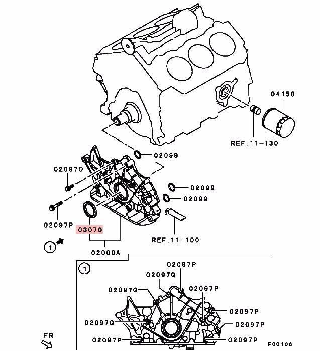 Airtrek Engine Diagram