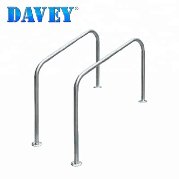 Standard design swimming pool accessories Handrail, View